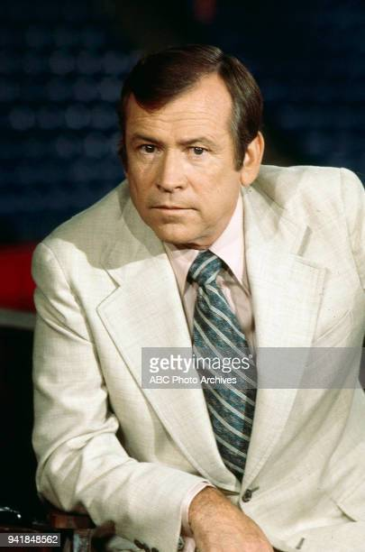 Senator Howard Baker on ABC's 'Issues and Answers' program at 1976 Republican National Convention Kemper Arena