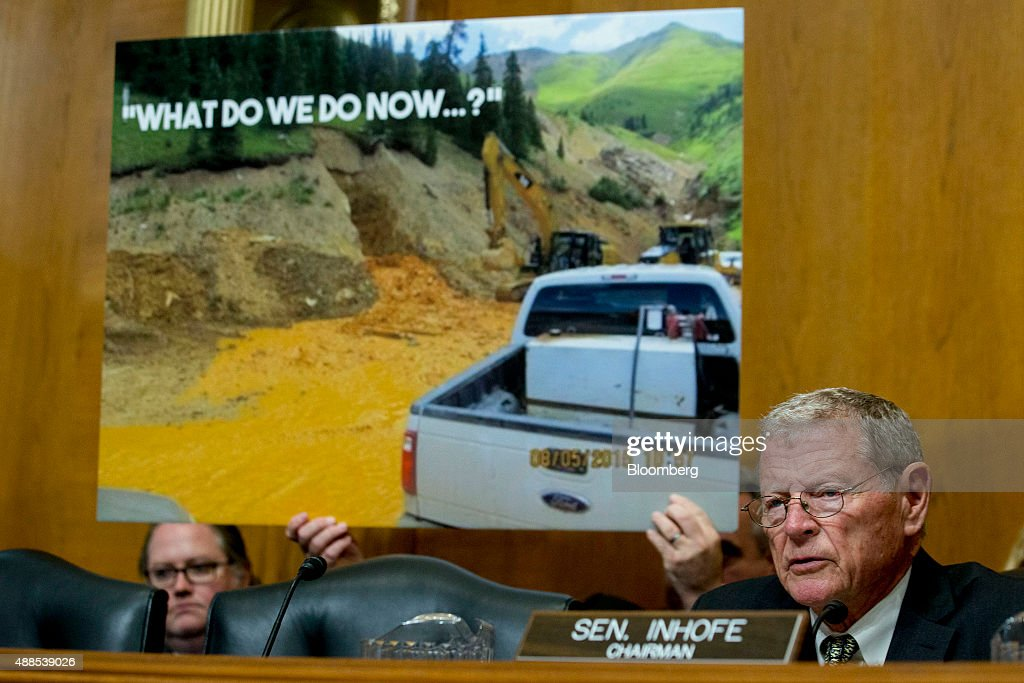 EPA Administrator Gina McCarthy Testifies On Gold King Mine Disaster