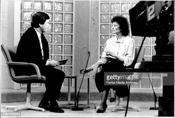 Senator Janine Haines on the Ray Martin Show July 8 1987