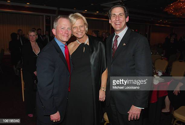 Senator Jeff Van Drew Mary Anderson and Steve Shaw attend the president's reception and Installation Banquet during the 2008 Atlantic Builders...