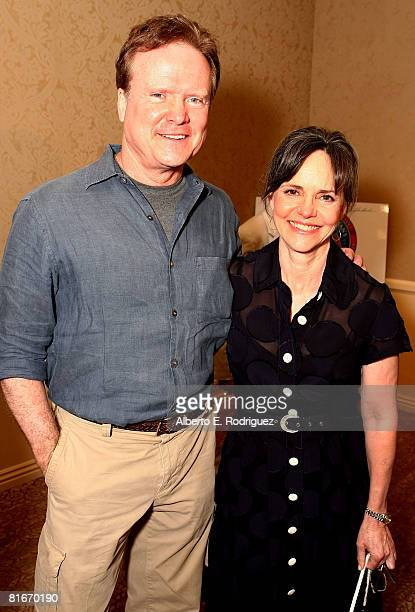 S senator Jim Webb and actress Sally Field attend the Campaign for a New GI Bill hosted by the Student Veterans of America at the Beverliy Hilton...