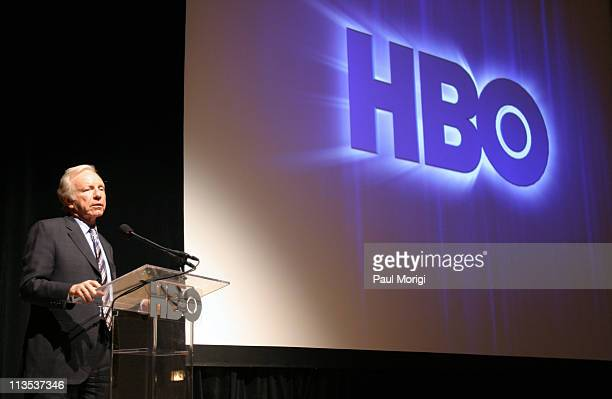 Senator Joe Lieberman at the premiere screening of the HBO documentary Too Hot Not Too Handle in Washington DC The documentary illustrates the...