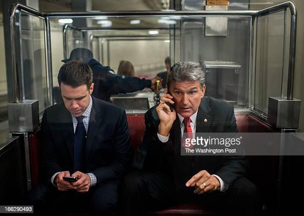 17 Senator Joe Manchin Interview Pictures, Photos & Images