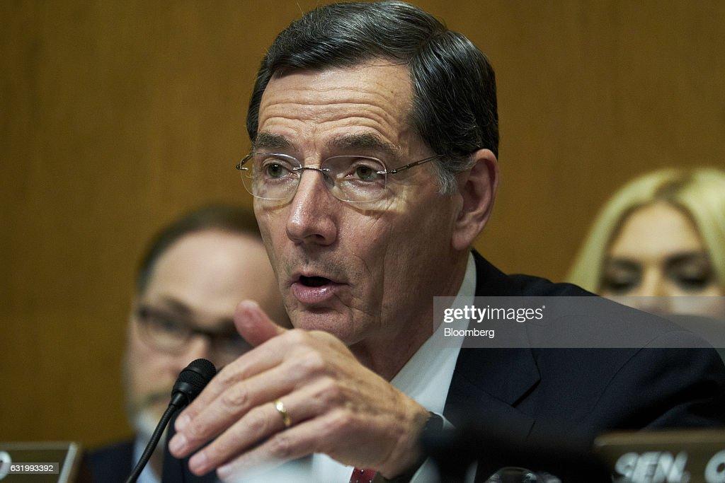 Senate Environment Committee Considers Scott Pruitt To Be EPA Administrator : News Photo