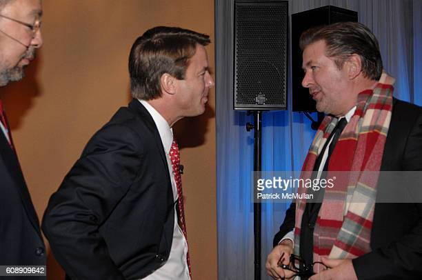 Senator John Edwards and Alec Baldwin attend Time Warner's Conversations On The Circle with Time Warner's CEO DICK PARSONS and SENATOR JOHN EDWARDS...