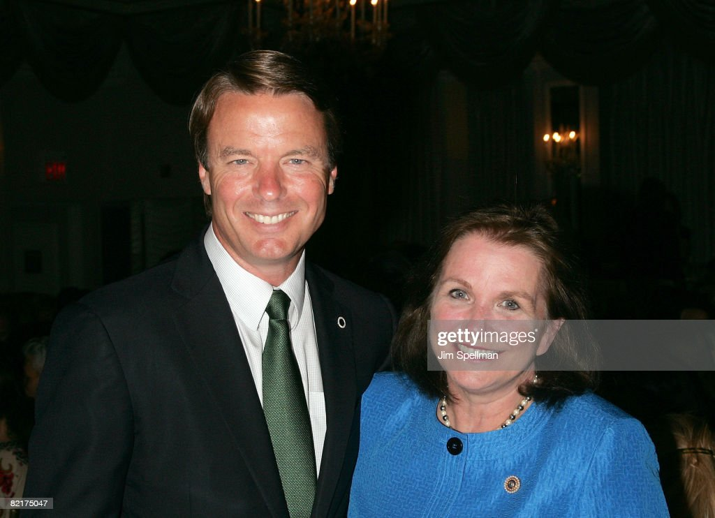 Senator John Edwards and Elizabeth Edwards attend the 30th Annual Outstanding Mother Awards at The Pierre Hotel on May 8, 2008 in New York City.