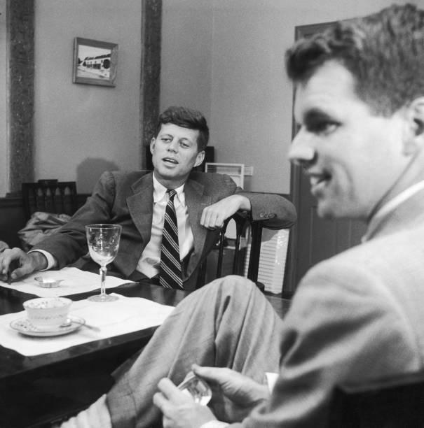 Robert & John F. Kennedy