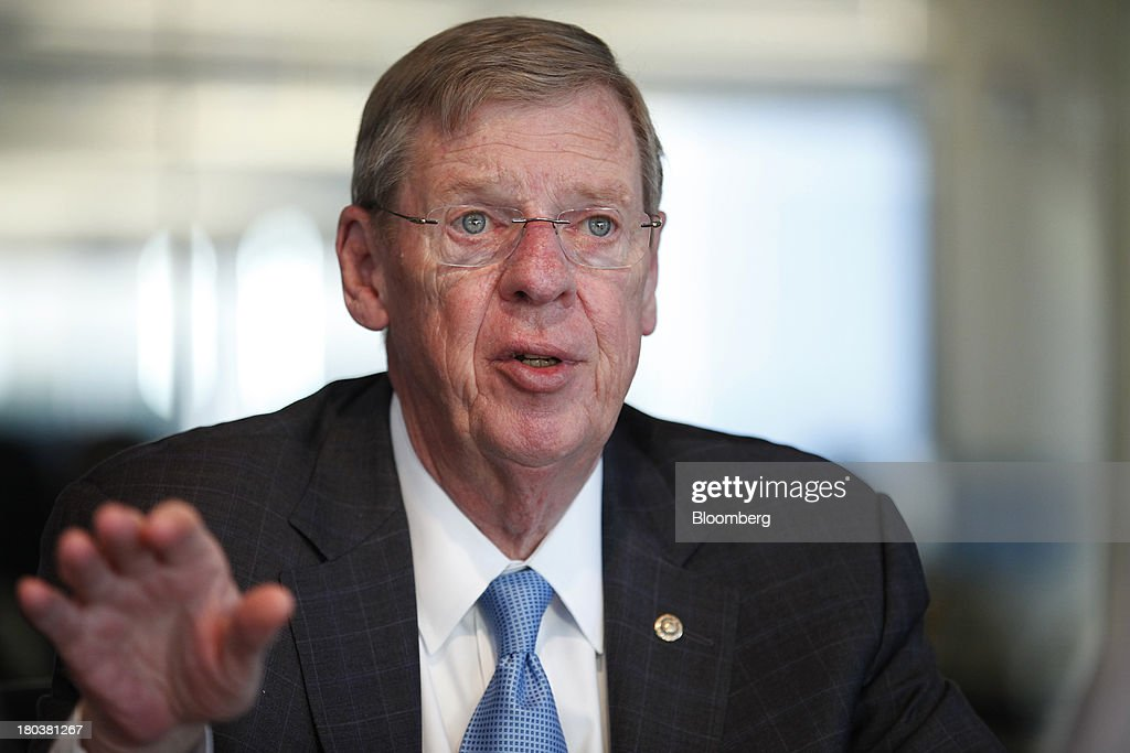 Republican Senator from Georgia Johnny Isakson Interview