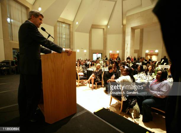 """Senator John Kerry during """"Children Uniting Nations Second Annual National Conference"""" at Woodrow Wilson International Center for Scholars in..."""