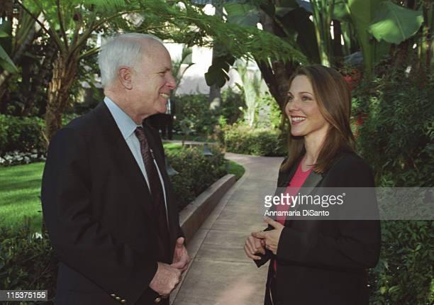 Senator John McCain and Kelli Williams of The Practice discuss gun safety