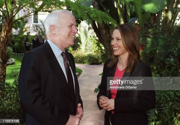 Senator John McCain and Kelli Williams of The Practice discussing gun safety