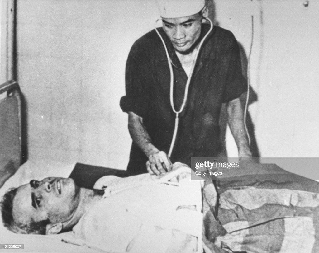 Senator John Mccain In A Hanoi Hospital During The Vietnam War November, 1967.