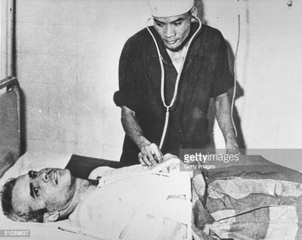 Senator John Mccain In A Hanoi Hospital During The Vietnam War November 1967