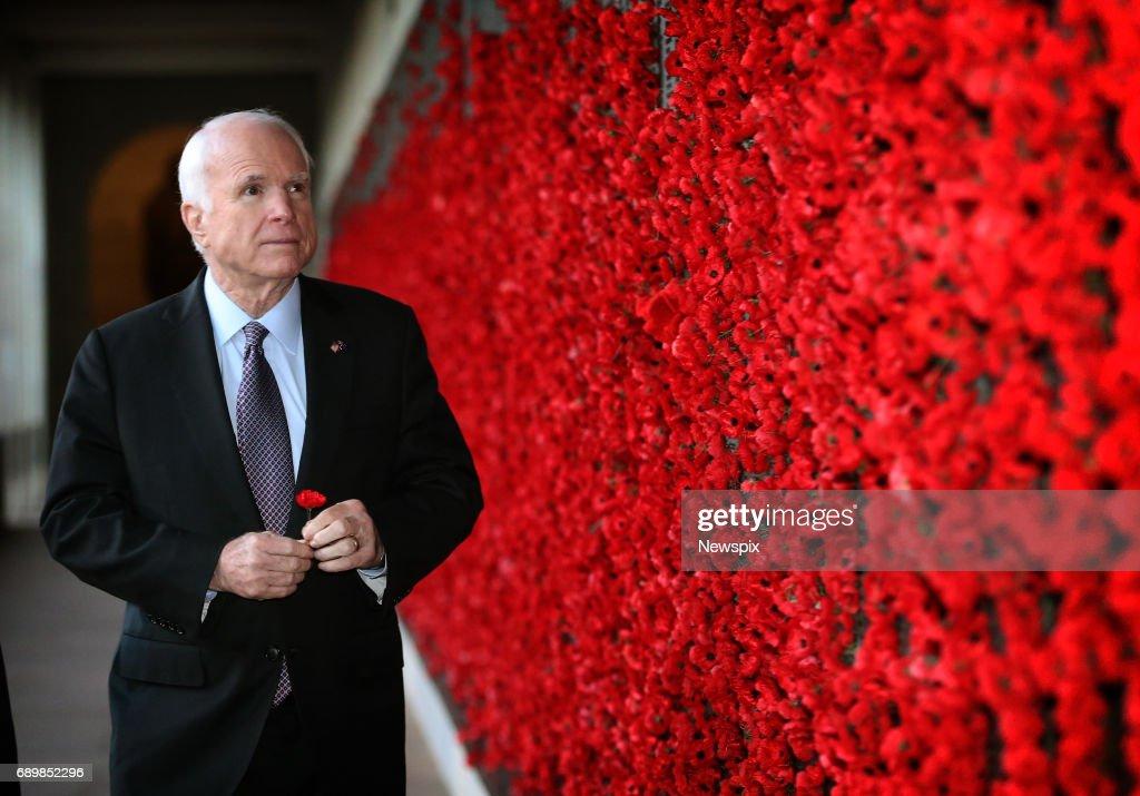 John McCain Visits Australia