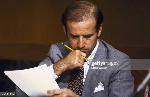 Senator Joseph Biden at Judiciary SubCommittee on Security Terrorism hearing on Agents Identity Act of 1981