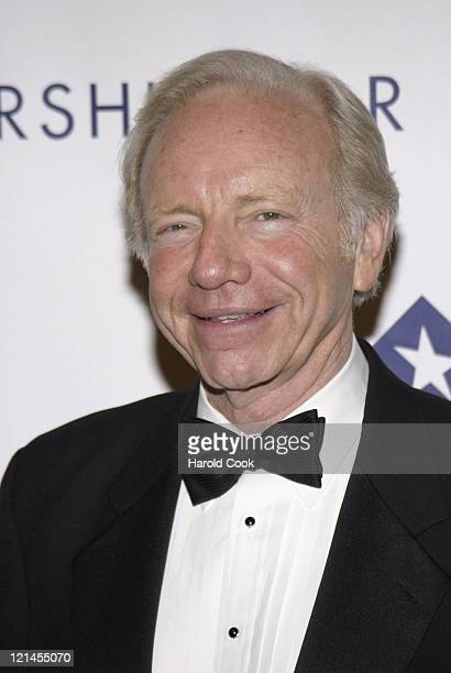 Senator Joseph Lieberman during The Partership for Public Service Gala December 11 2006 at Cipriani in New York City New York United States