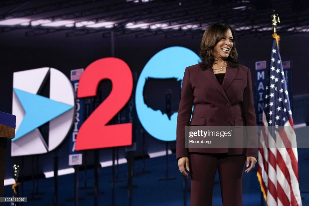 Kamala Harris Accepts Vice Presidential Nomination At Democratic National Convention : News Photo
