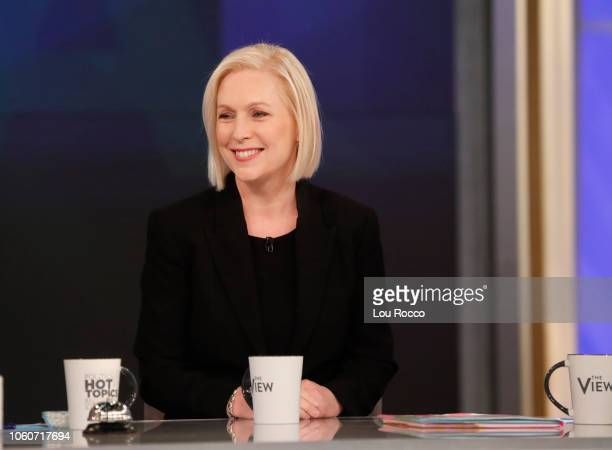 """Senator Kirsten Gillibrand is the guest today, Monday, 11/12/18. """"The View"""" airs Monday-Friday on the Walt Disney Television via Getty Images..."""
