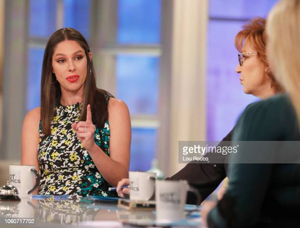 THE VIEW Senator Kirsten Gillibrand is the guest today Monday 11/12/18 The View airs MondayFriday on the ABC Television Network BEHAR