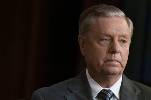 DC: Senator Lindsey Graham Holds News Conference On Turkey Sanctions
