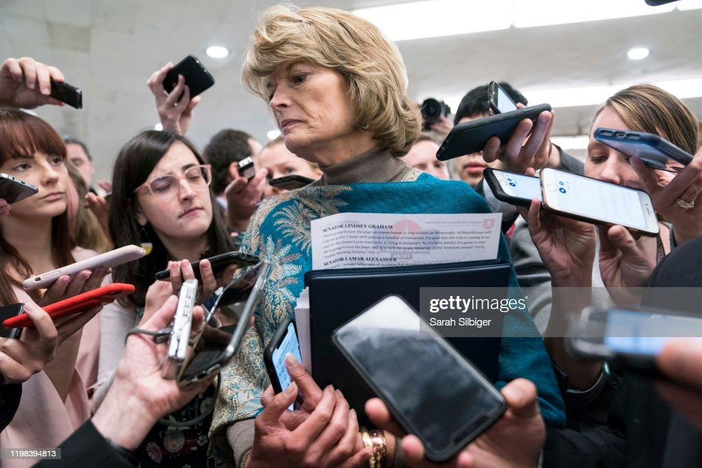 Senate Impeachment Trial Of President Donald Trump Moves Into Its Final Week : ニュース写真