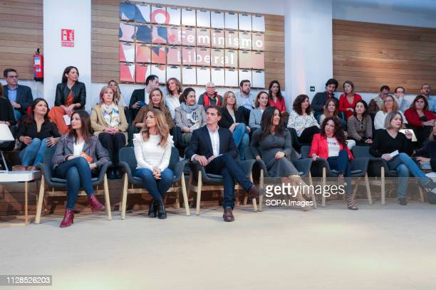 Senator Lorena Roldán Deputy Patricia Reyes The president of Ciudadanos Albert Rivera the spokeswoman of Cs in the City Council of Madrid Begoña...