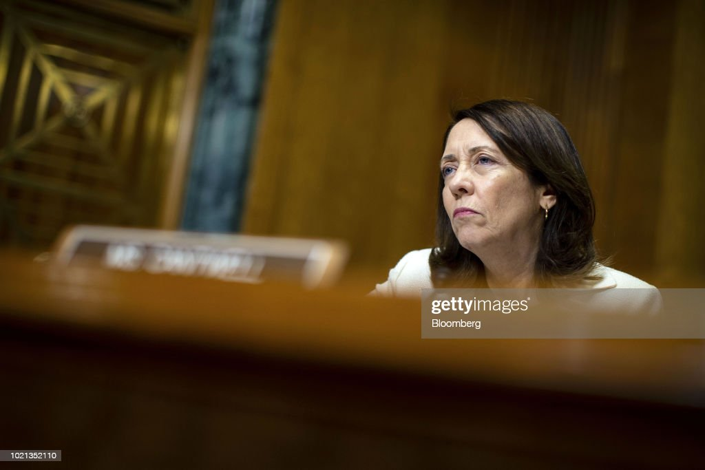 Senate Finance Confirmation Hearing For Assistant Secretary Of Treasury And HHS Commissioner Nominees : News Photo