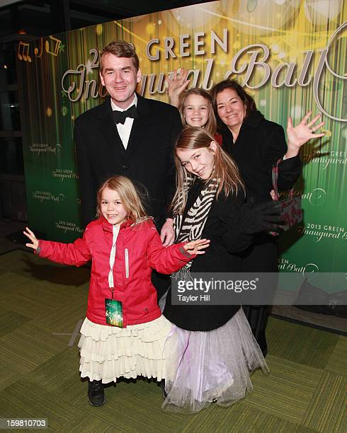 Senator Michael Bennet DColorado attends the 2013 Green Inaugural Ball at NEWSEUM on January 20 2013 in Washington DC