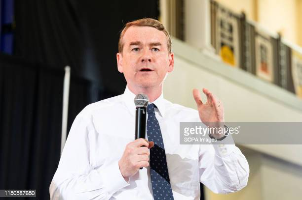S Senator Michael Bennet speaking at the Poor Peoples Moral Action Congress taking place at Trinity Washington University in Washington DC on June 17...