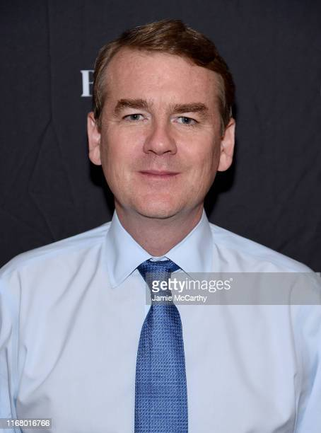 Senator Michael Bennet visits BuzzFeed's AM To DM on August 14 2019 in New York City