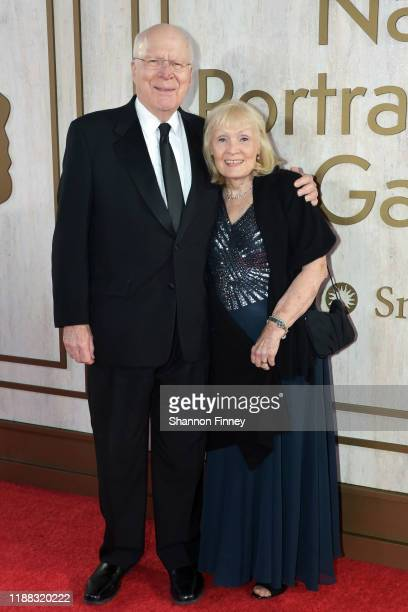 S Senator Patrick Leahy and his wife Marcelle Pomerleau attend the 2019 American Portrait Gala at the Smithsonian National Portrait Gallery on...