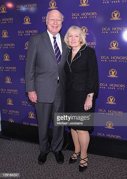 S Senator Patrick Leahy and Marcelle Pomerleau Leahy attend the 2011 Directors Guild Of America Honors at the Directors Guild of America Theater on...