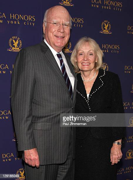 Senator Patrick Leahy and Marcelle Pomerleau Leahy attend the 2011 Directors Guild Of America Honors at the Directors Guild of America Theater on...