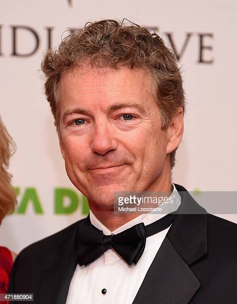 Senator Rand Paul of Kentucky attends the 141st Kentucky Derby Unbridled Eve Gala at Galt House Hotel Suites on May 1 2015 in Louisville Kentucky