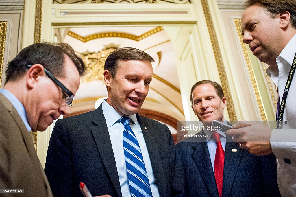 CT Senator Chris Murphy Leads Gun Control Filibuster In The Senate