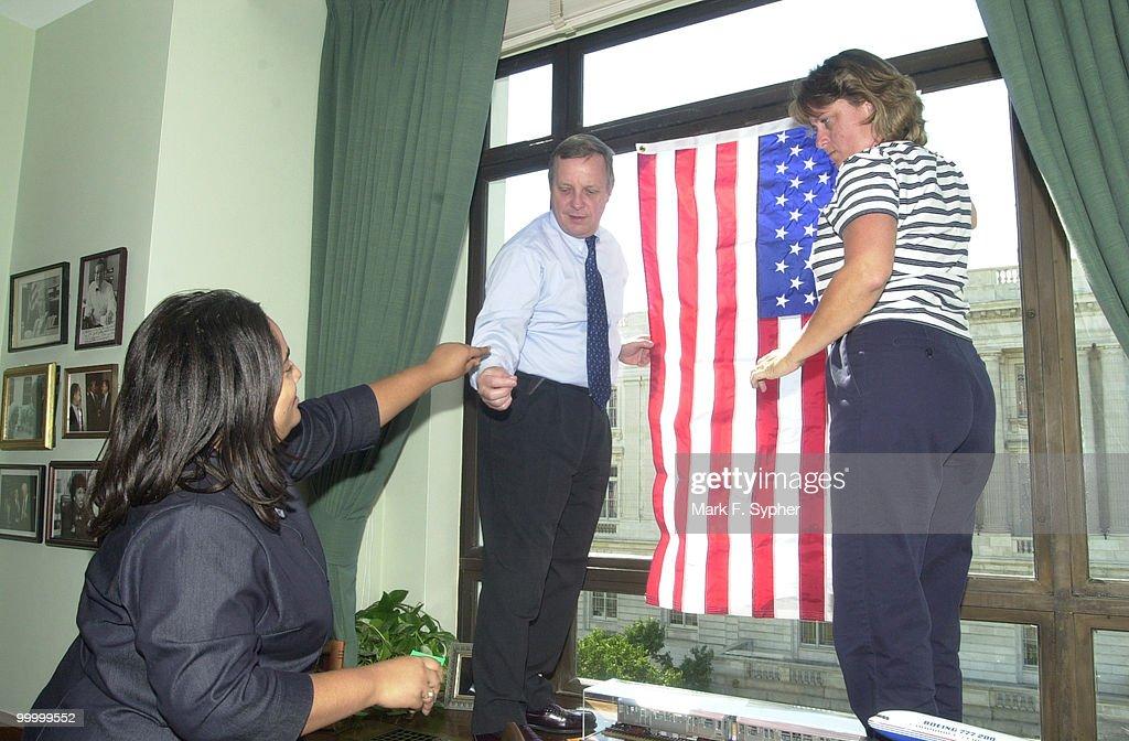 Flag Raising : Fotografía de noticias