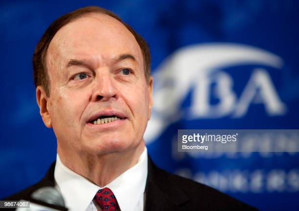Senator Richard Shelby, a Republican from Alabama, speaks at an Independent Community Bankers of America conference in Washington, D.C., U.S., on...