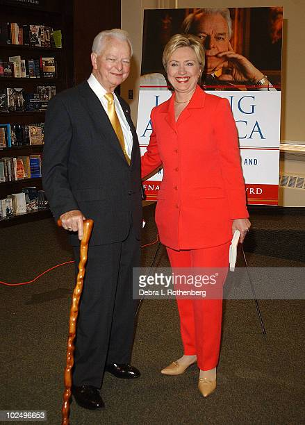 Senator Robert Byrd and Senator Hillary Rodham Clinton