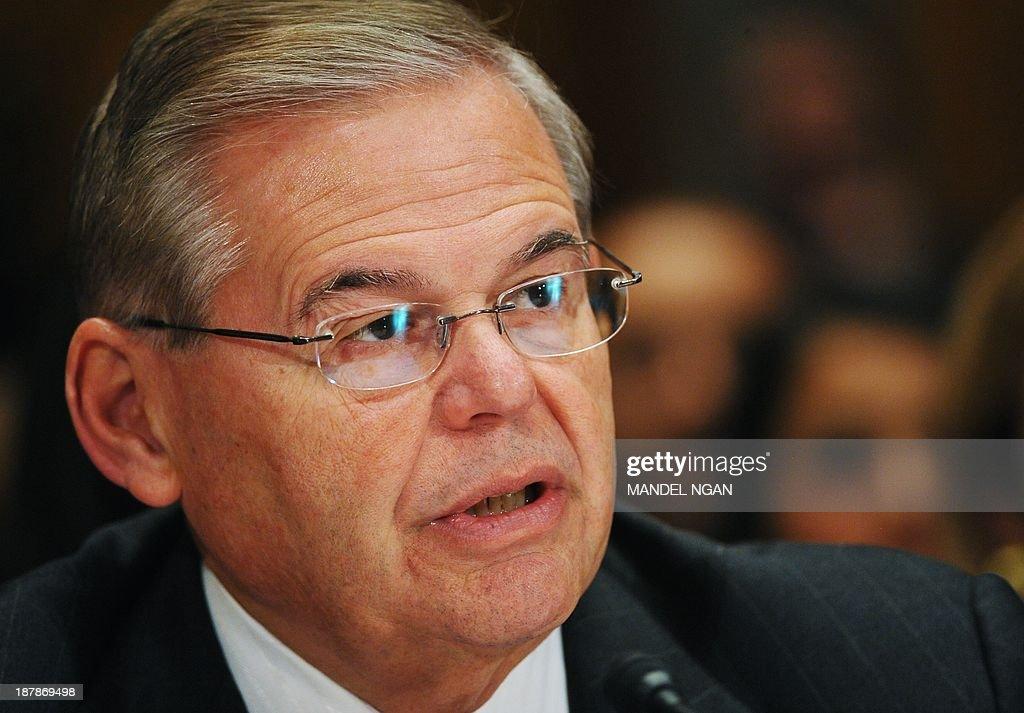 US-POLITICS-CONGRESS-HOMELAND SECURITY-JOHNSON : News Photo