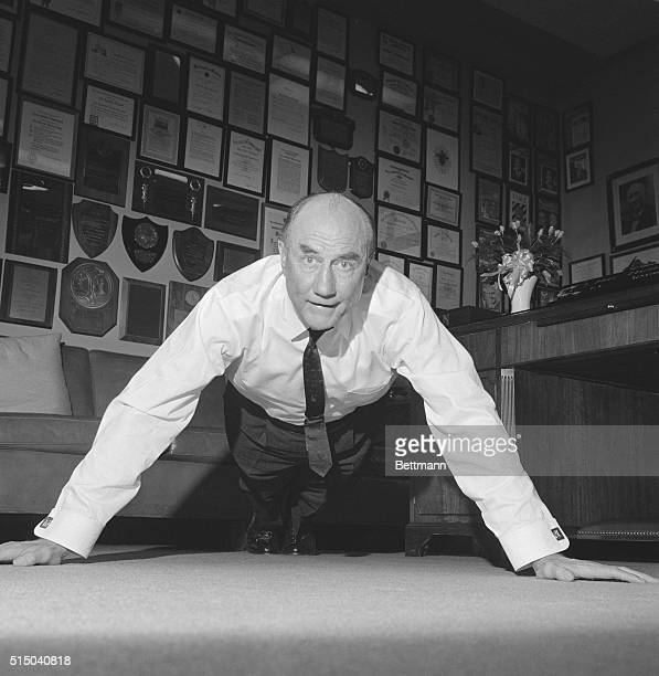 Senator Strom Thurmond who prides himself in his physical condition observed his 65th birthday today by doing 101 pushups This one would make 102 for...
