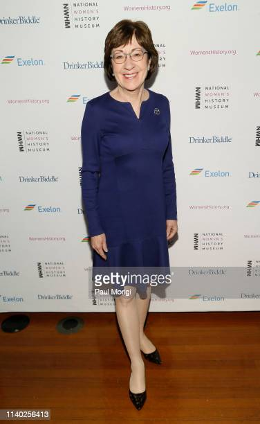 Senator Susan Collins attends the National Women's History Museum's Women Making History Awards at Carnegie Institution for Science on April 03, 2019...