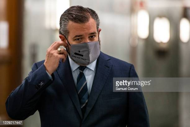 Senator Ted Cruz heads into a Judiciary Committee hearing where Republicans will vote on whether or not to move the nomination of Judge Amy Coney...