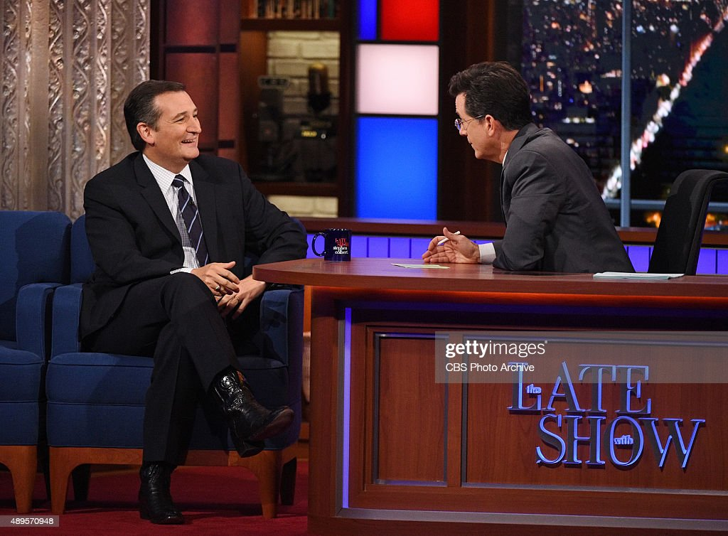 The Late Show with Stephen Colbert : News Photo