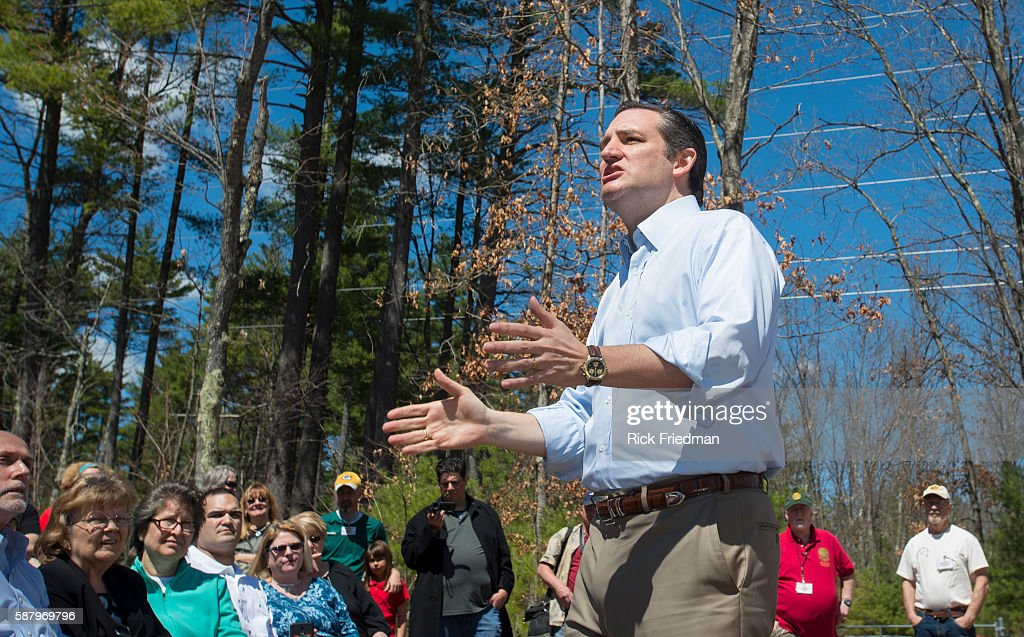 Senator Ted Cruz Speaking At The Londonderry Fish And Game Club In News Photo Getty Images