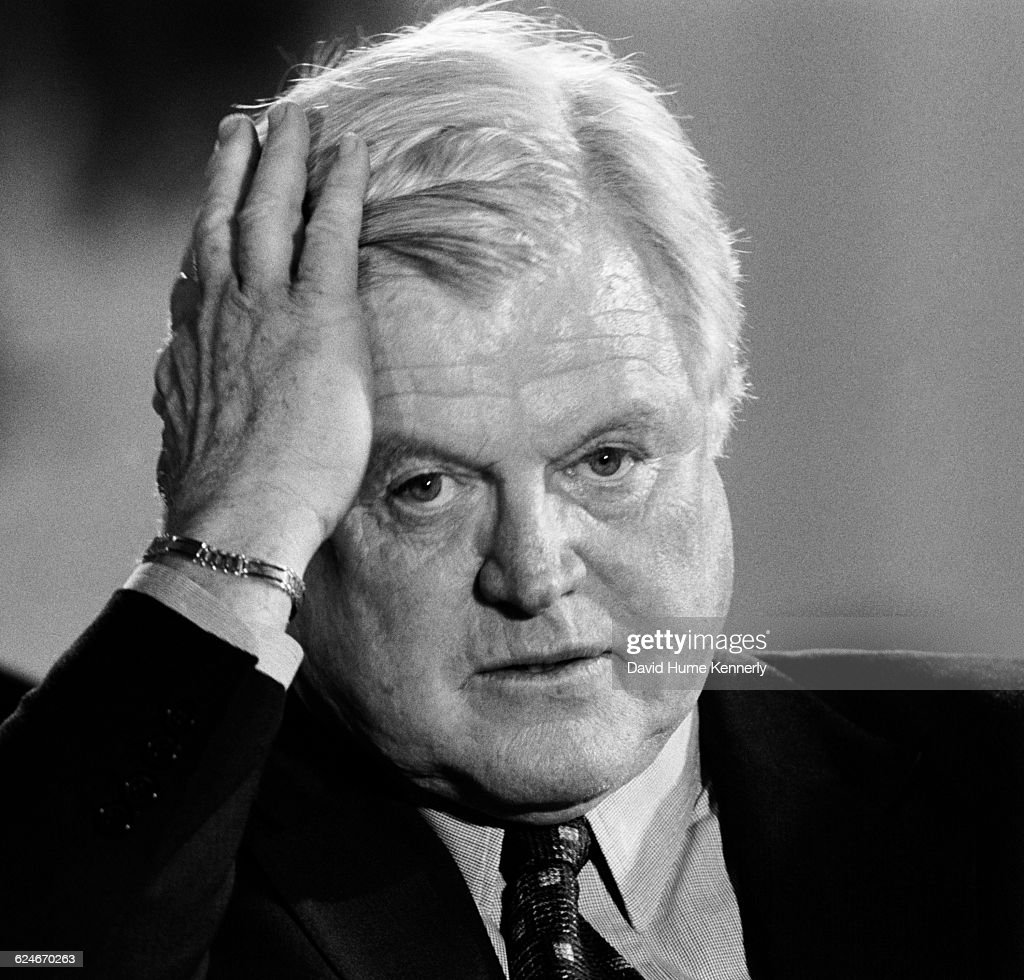 Senator Ted Kennedy (D-Mass) attends an event at the White House related to the National Institute on Disability and Rehabilitation on January 13, 1999.