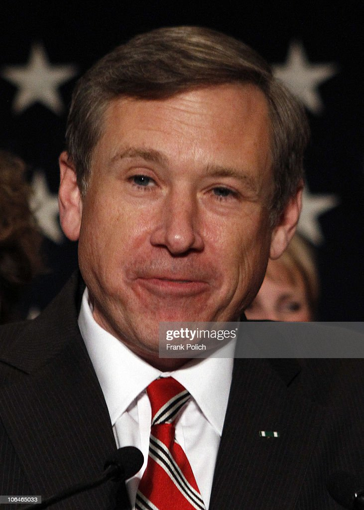 Mark Kirk And Supporters Attend Election Night Event