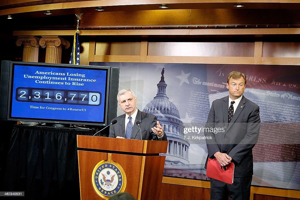 Senators Reed And Heller Discuss Unemployment Insurance Vote
