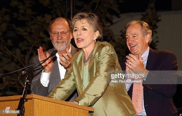 Senators Jon Corzine Barbara Boxer and Tom Hardin