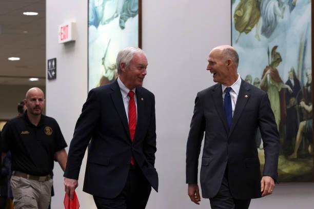 DC: GOP Senators Hold News Conference On Border Crisis