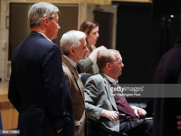 S Senators Sheldon Whitehouse Jack Reed and US Congressman James Langevin host a Town Hall at Coventry High School to allow Rhode Islanders to get a...
